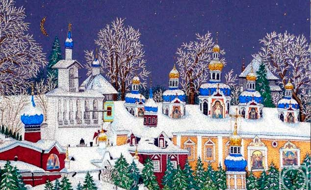 Псков. Белая скатерть Рождества
