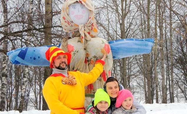 Масленица в Пушкинских горах