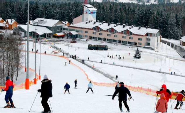 Минск-Аквапарк. Силичи – горные лыжи.