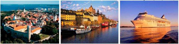 Круиз Таллинн – Стокгольм