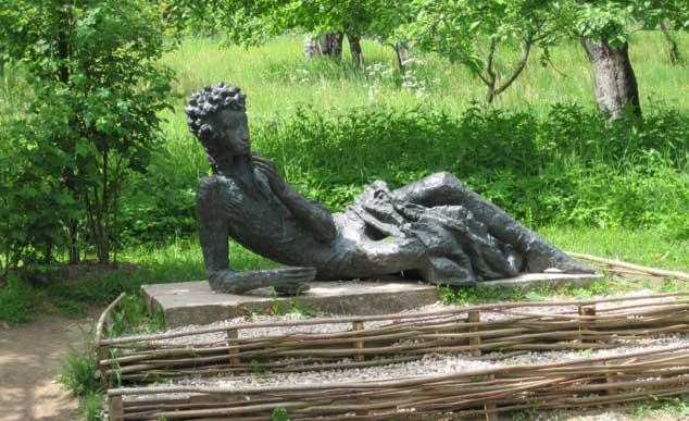 Пушкинские Горы:  2 усадьбы и Савкина горка